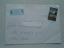 ZA268.20 ISRAEL  Registered Cover  Ca 1996 ASHQELON  -stamp Ytzhak Rabin - Israel