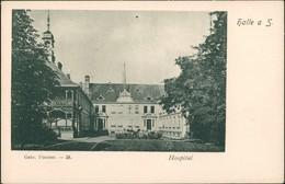 Ansichtskarte Halle (Saale) Hospital 1912 - Allemagne