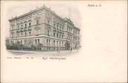 Ansichtskarte Halle (Saale) Straßenpartie Oberes Bergamt 1905 - Allemagne