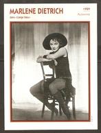 PORTRAIT DE STAR 1929 ALLEMAGNE - ACTRICE MARLENE DIETRICH - GERMANY ACTRESS CINEMA FILM PHOTO - Fotos