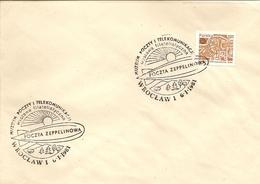 Polska - Postmark - Zeppelin Transport - FDC & Commémoratifs
