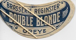 OREYE. BRASSERIE REGENSTER. DOUBLE BLONDE - Oreye