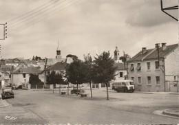 VERZY  -  51  -  La Nouvelle Place - Camion Avec Publicité FRIGIDAIRE  - Vieille Voiture Traction ( Belle Carte ) - Verzy