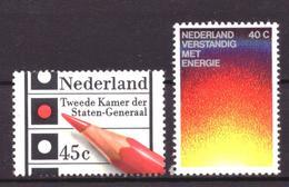 Nederland - Niederlande - Pays Bas NVPH 1128 & 1129 MNH ** (1977) - 1949-1980 (Juliana)