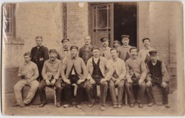 """Personnels De L'usine De Tissage """"du Chapeau Rouge"""" à Rosendael ( Nord ) - Vieux Papiers"""