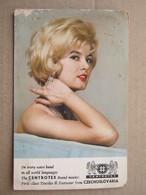 CARD RADIO AMATEUR, CENTROTEX, CZECHOSLOVAKIA, 1967. ( 16,5 X 10,6 Cm ) - Radio Amateur