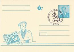 België - Briefkaart - Tielt - Scrabble Club Blanco - (1995) - Gefälligkeitsabstempelung