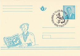 België - Briefkaart - Tielt - Scrabble Club Blanco - (1995) - Poststempels/ Marcofilie