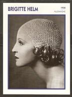 PORTRAIT DE STAR 1930 ALLEMAGNE - ACTRICE BRIGITTE HELM - GERMANY ACTRESS CINEMA FILM PHOTO - Fotos