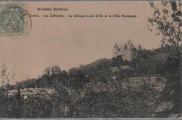 Cpa  C9   CANNES - La Californie-château Louis XIII-villa Normande - Cannes