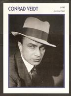 PORTRAIT DE STAR 1930 ALLEMAGNE - ACTEUR CONRAD VIEDT - GERMANY ACTOR CINEMA FILM PHOTO - Fotos