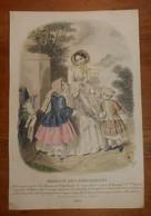 Gravure De Mode. 1852. - Prints & Engravings