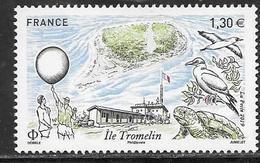 FRANCE, 2019, MNH,  TROMELIN ISLAND, BIDS, TURTLES, 1v - Pájaros