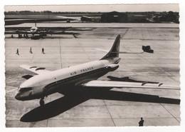 Aviation - Caravelle D'Air France. N°66. Carte Postale Noir Et Blanc. Editions P. I., Paris. - France