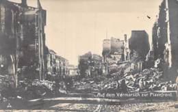 ** Carte Photo Photo Card Rela Photo **MILITARIA- Guerre 1914-18 - ITALIA Italie : Auf Dem VERMARSCH Zur PIAVEFRONT - Militaria