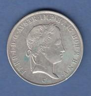 Österreich / Ungarn  Ferdinand I. Silbermünze 20 Kreuzer 1847 C  - Autriche