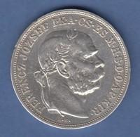 Österreich / Ungarn Franz Joseph  Silbermünze 5 Korona 1908 - Autriche