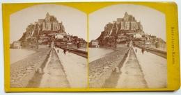 MONT SAINT MICHEL - FRANCE - Stereoscopic
