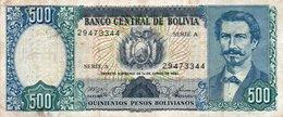 BOLIVIA 500 PESOS BOLIVIANOS 1981  P-165 - Bolivia
