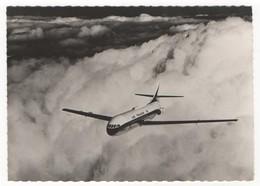 Aviation - Dans Le Ciel De France. Caravelle D'Air France. N°88. Carte Postale Noir Et Blanc. Editions P. I., Paris. - France