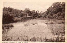 24. CPA. MIALLET.  étang De Puyraud. 1946. - Francia