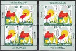 Europa Cept - 2012 - Romania, Rumenien - 2.Mini S/Sheet * Type - A+B - (Visit) ** MNH - Europa-CEPT