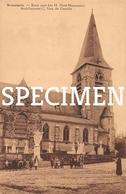 Kerk Met Het H. Hart Monument - Brussegem - Merchtem