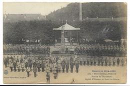 88-BRUYERES-EN-VOSGES-Remise De Décorations, Légion D'Honneur Et Croix De Guerre... 1916  Animé  (pli) - Bruyeres