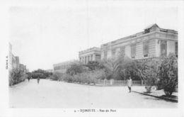 Djibouti Rue Du Port - Dschibuti