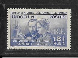 INDOCHINE N° 202 NEUF * - COTE = 17.00 € - Indochina (1889-1945)