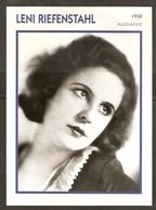 PORTRAIT DE STAR 1930 ALLEMAGNE - ACTRICE LENI RIEFENSTAHL - GERMANY ACTRESS CINEMA FILM PHOTO - Fotos