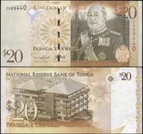 Tonga 20 Pa'anga. ND (2014) Unc. Banknote Cat# P.41b - Tonga