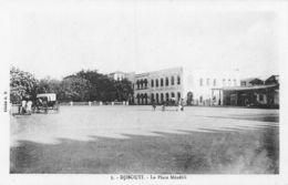 La Place Ménélik - Djibouti - Dschibuti