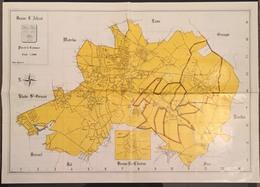Braine-L'Alleud, Carte Géographique. - Cartes Géographiques