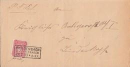 DR Brief EF Minr.41 R3 Breidenbach R.B. Wiesbaden 19.7.88 - Deutschland