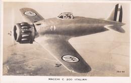 Avion Macchi C 200 Italian - 1939-1945: 2ème Guerre
