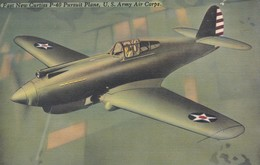 Fast New Curtiss P-40 Plane U.S. Army Air Corps - 1939-1945: 2ème Guerre