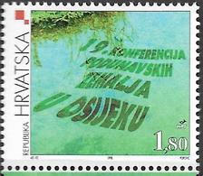 1998 Kroatien Mi. 467 **MNH  19. Konferenz Der Donau-Anrainerstaaten - Croatia