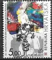 1998 Kroatien Mi. 492 **MNH   50. Jahrestag Der Allgemeinen Erklärung Der Menschenrechte - Croatia