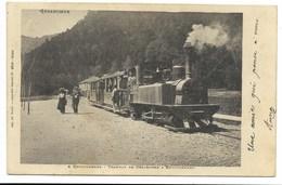 88-RETOURNEMER-Tramway De Gérardmer à Retournemer...1904  Animé  (pli à Gauche) - Autres Communes