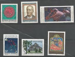 TP D'AUTRICHE N° 1836 A 1841  NEUFS SANS CHARNIERE - 1945-.... 2ème République