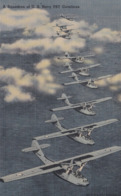 Aviation Avion Plane Squadron Of U.S. Navy PBY Catalina - 1939-1945: 2ème Guerre