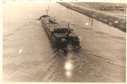 Photo Foto (6 X 9 Cm) Boot Bateau Peniche Binnenvaartschip (regio Hasselt ?) - Bateaux