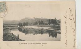 Cpa ( 25 Doubs)  Besancon , Vue Prise Du Pont Brégille 1900 - Besancon