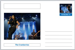 """Personalities - Souvenir Postcard (glossy 6"""" X 4"""" [15cm X 10cm] Card) - The Cranberries ENTERTAINMENT MUSIC ROCK POPS - Other Famous People"""