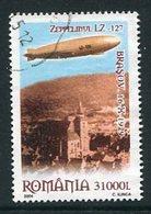 ROMANIA 2004 Zeppelin Flight Anniversary Used.  Michel 5849 - 1948-.... Repúblicas