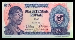 # # # Banknote Indonesien (Indonesia) 2 1/2 Rupiah 1968 UNC # # # - Indonesien