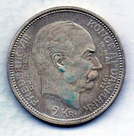 DENMARK, 2 Kroner, Silver, Year 1912, KM #811 - Denemarken