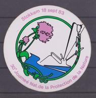 Autocollant, Protection De La Nature, Stokkem. - Autocollants