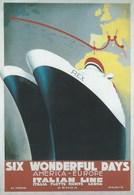 Pubblicitari - Rex E Conte Di Savoia 1932 - - Publicité